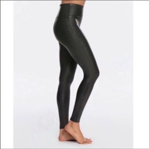 Spanx Faux leather leggings Small